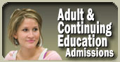 Adult & Continuing Education Admissions